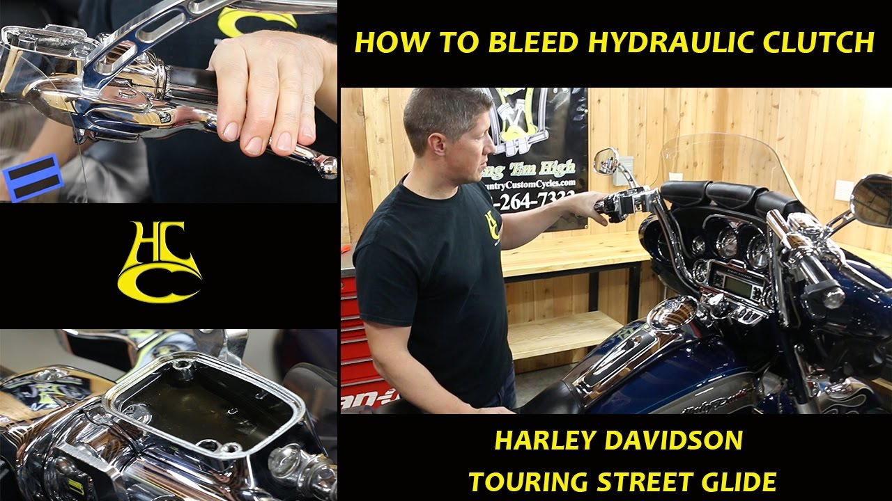 How To Bleed Hydraulic Clutch Harley Davidson Touring Street Glide 2000 Wide Wiring Diagram