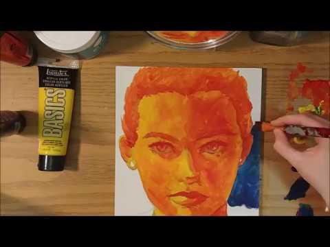 Self Portrait Speed Painting