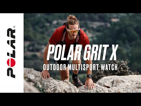 Polar Grit X | Outdoor multisport watch with GPS | Power through anything