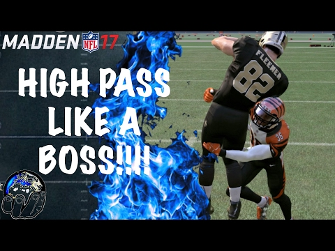 0f101260f How To Throw High Passes in Madden 17   High Pass GLITCH   Madden 17  Gameplay