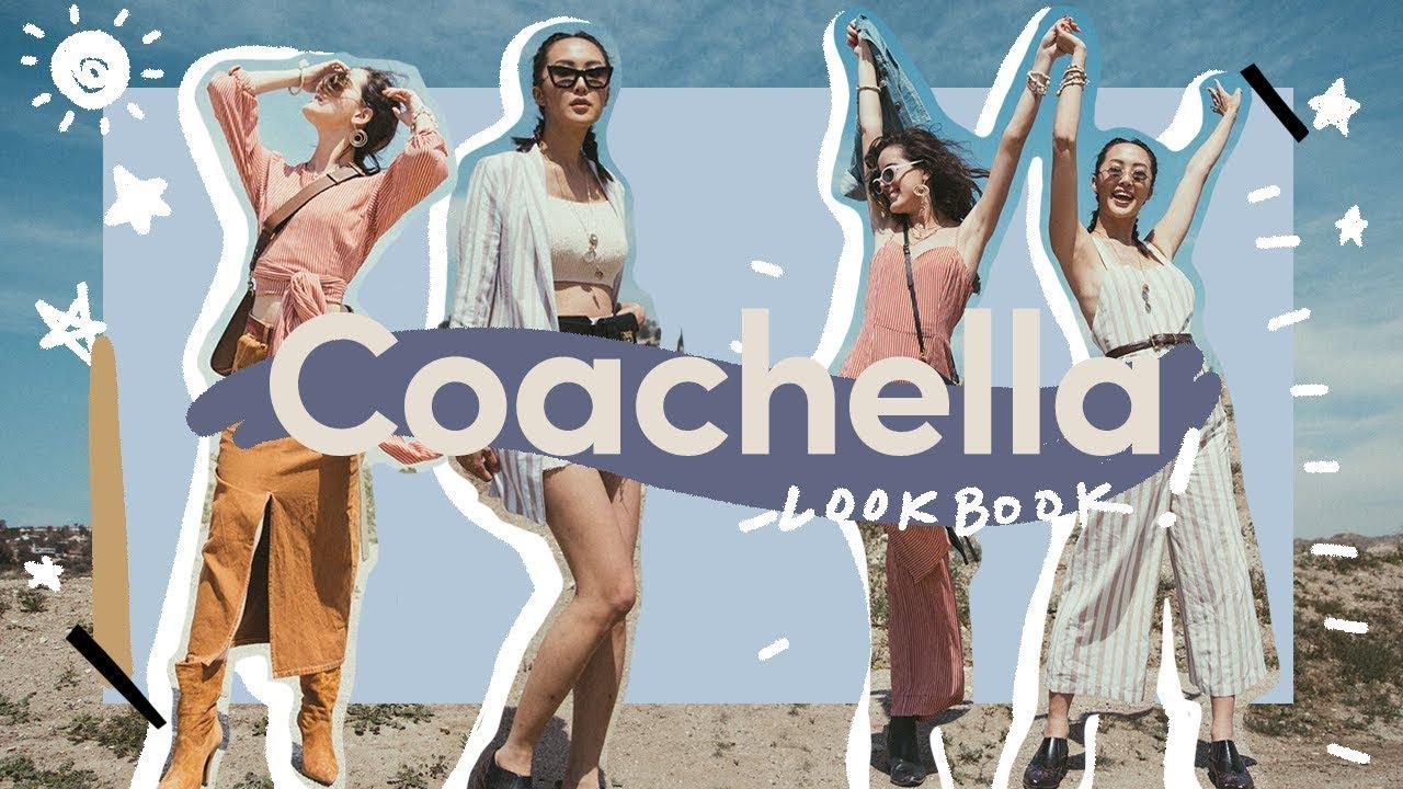 [VIDEO] - Coachella Music Festival Lookbook ?| Chriselle Lim 9