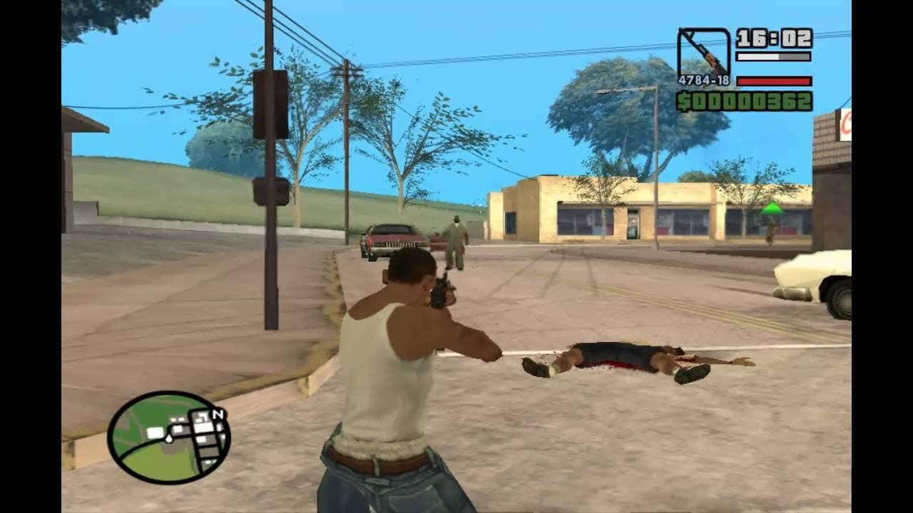 GTA San Andreas - Zombie Apocalypse Mod Total Conversion