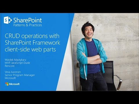 PnP Webcast - CRUD operations with SharePoint Framework client-side web  parts