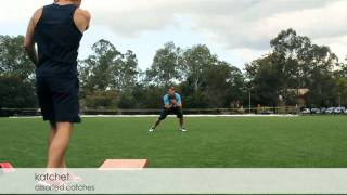 Cricket Training - In field Reaction Catching Drill using the Katchet