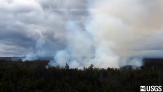 Kilauea flyover dated Sept. 10, 2014
