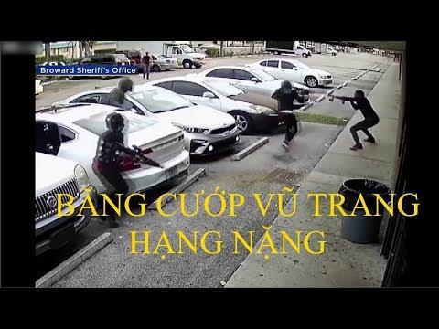 Xem phim Cướp xe chở tiền - Camera an ninh | Băng Cướp trang bị vũ trang hạng nặng