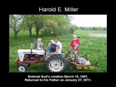 Harold E. Miller Memorial Service.wmv