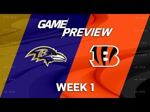 Baltimore Ravens vs. Cincinnati Bengals | Week 1 Game Preview | Good Morning Football