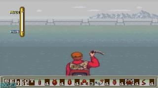 Super Black Bass - SNES Gameplay