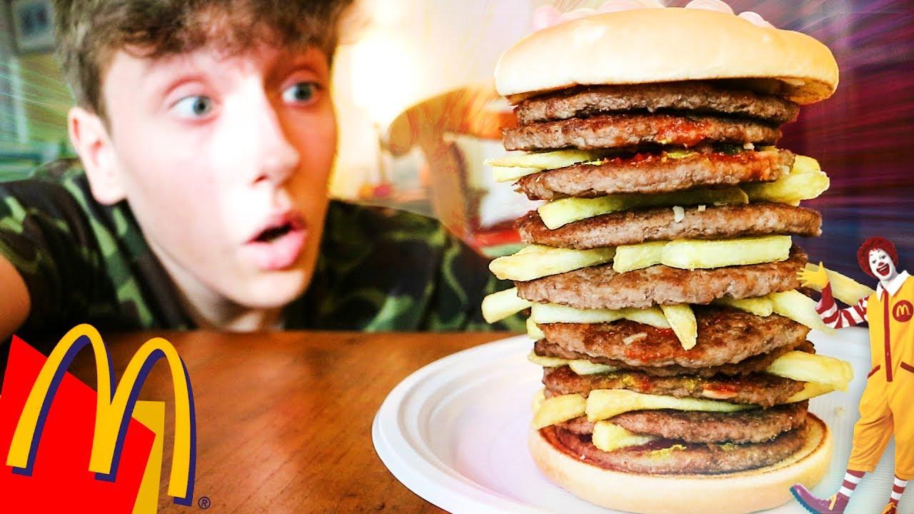 Il panino di mc donald 39 s pi grande del mondo 10 strati for La villa piu grande del mondo