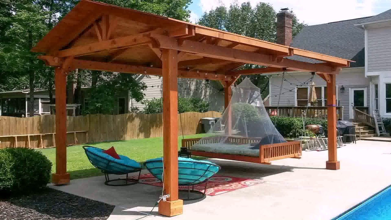 Gable Roof Patio Cover Plans Gif Maker Daddygif
