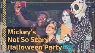 Mickey's Not So Scary Halloween Party 2017