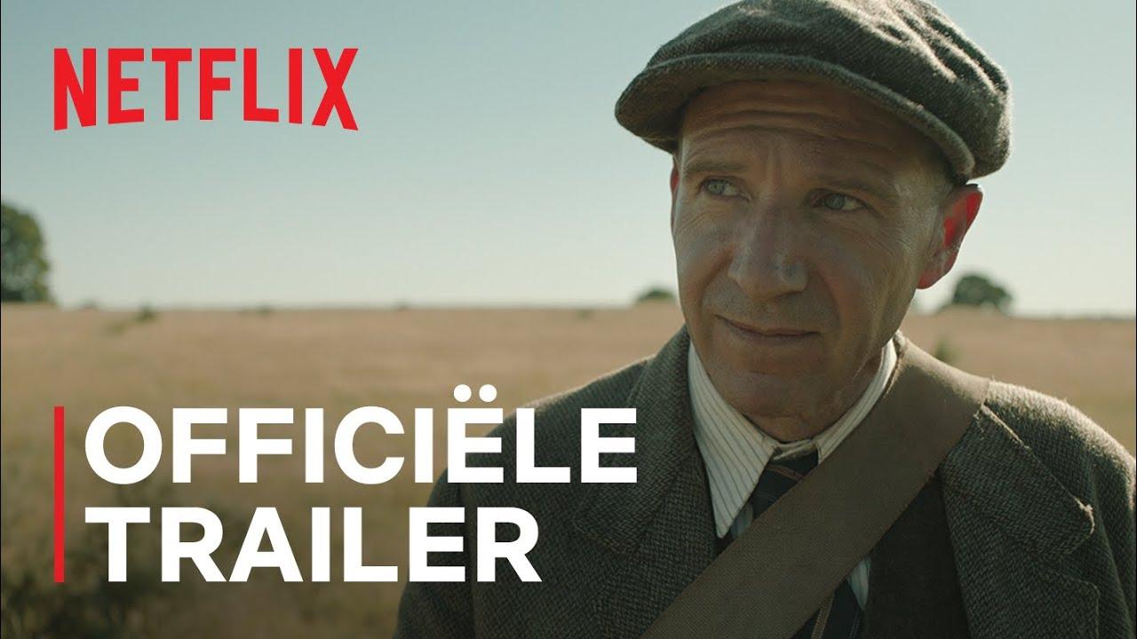 Ralph Fiennes & Carey Mulligan in The Dig trailer op Netflix België