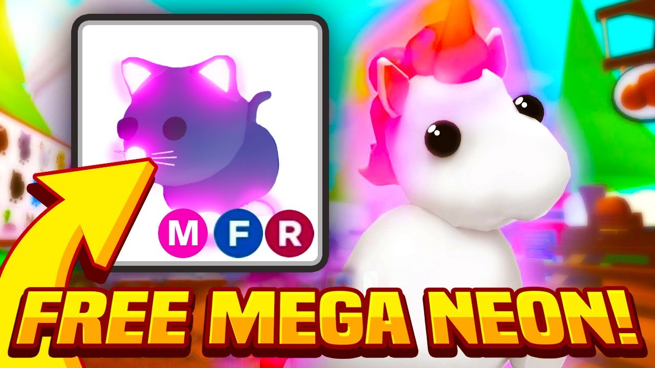 Roblox Adopt Me Pets Gif How To Get A Free Mega Neon In Adopt Me Adopt Me Mega Neon Update Giveaway Mega Neon Cat Roblox Youtube