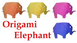 How to make Origami Elephant : DIY Crafts - HD