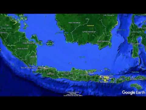 Bali 2017 Trip Google Earth Tour