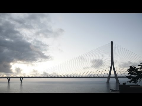 Zaha Hadid wins contest for landmark bridge across Taipei's Tamsui River