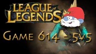 LoL Game 614 - 5v5 - Hilarious Rammus Smurf - 2/2