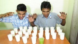 28 Glass Punjabi Lassi Drinking Competition | Lassi Challenge | Food Challenge India