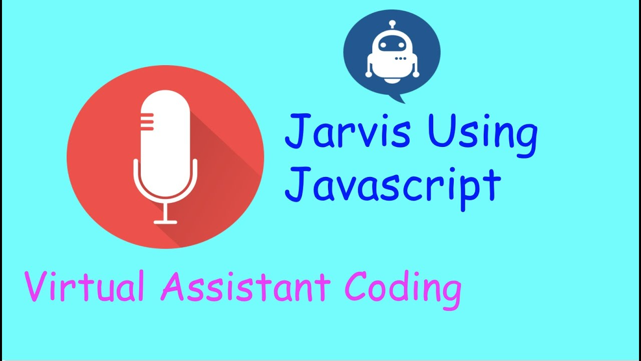Jarvis Virtual Assistant Using JavaScript Coding Tutorial | Source Code