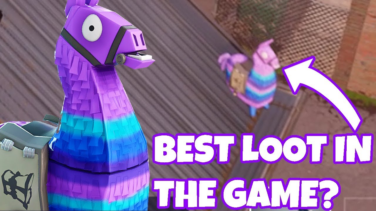 Supply Lama Spotted In Fortnite