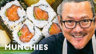 How To Make Sushi with Iron Chef Morimoto