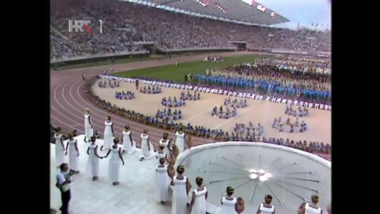 VIII Mediterranean Games Split 1979 - Opening Ceremony