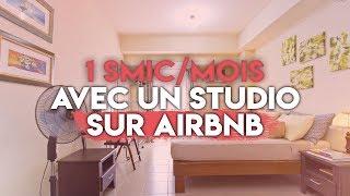 Gambar cover AirBnb : Je gagne 1000€/mois avec un studio de 27m carré !