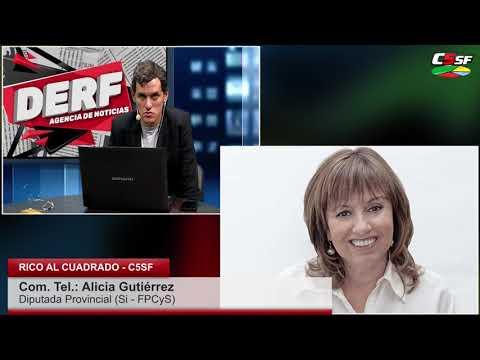 Alicia Gutiérrez: Nuestro apoyo es a Alberto Fernández
