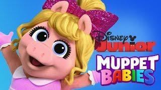 Muppet Babies   Little Miss Piggy Mini Games For Children   Disney Junior App For Kids