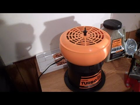 LYMAN PRO 1200 TURBO TUMBLER REVIEW & BRASS CLEANING (HD)