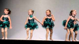 Carys and her bestie Sage doing the jazzy Razzmatazz, 6th position ...