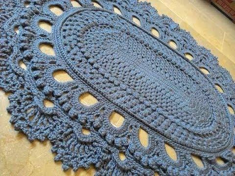 Crochet Giant Rug By Mishi Arts Youtube