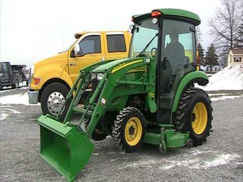 John Deere 3320 Tractor Cab Heat Air 4x4 Youtube