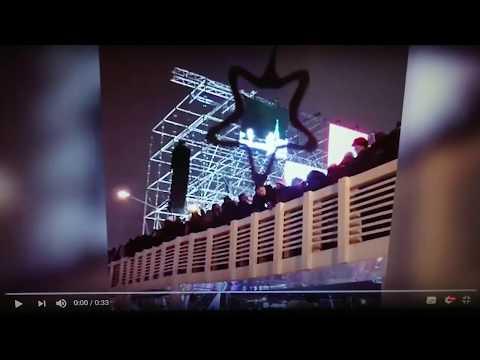 Сатанинская звезда. Обрушение моста в Парке Горького под сатанинской звездой.