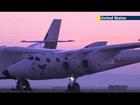 Richard Branson's Space Tourism Dream: Virgin Galactic's SpaceShipTwo completes test flight