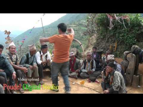 panche baja dance at gulmi