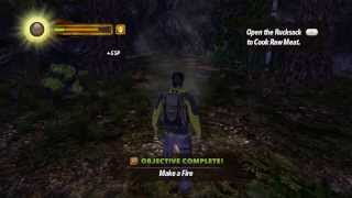 Играю в MAN vs WILD the Game (Xbox 360) gameplay