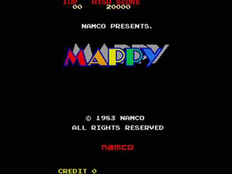 Mappy Arcade In-Game Music
