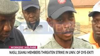 NASU, SSANU members threaten strike in FUOYE