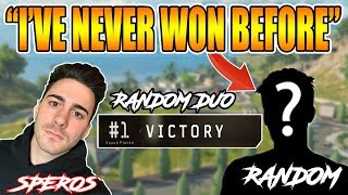 CoD BLACKOUT RANDOM DUO | GETTiNG A NiCE LiTTLE KiD HiS FiRST WiN iN BLACKOUT!!!!!!