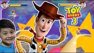 Toy Story en Español con Woody y la Bruja en las Estrellas | Juego Pelicula Disney