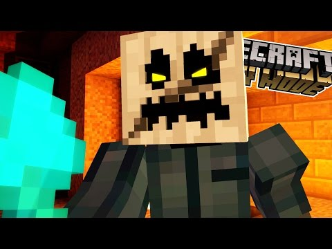 FIGHTING THE WHITE PUMPKIN!! | Minecraft : Story Mode | Episode 6 [3]