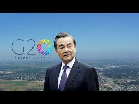 Chinese FM Wang Yi on global tour