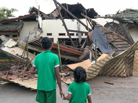 France 24 - Lombok's Earthquakes Destroyed Our Peduli Anak Foundation Children's Homes.