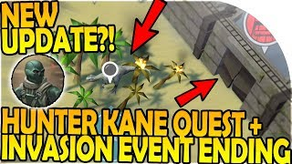 INVASION EVENT  HUNTER KANE QUEST ENDING - NEW UPDATE - Last Day on Earth Jurassic Survival