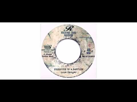 "Little Ced / Lone Ranger - Youth Man / Pressure In A Babylon - 7"" - Rocking Time Records"