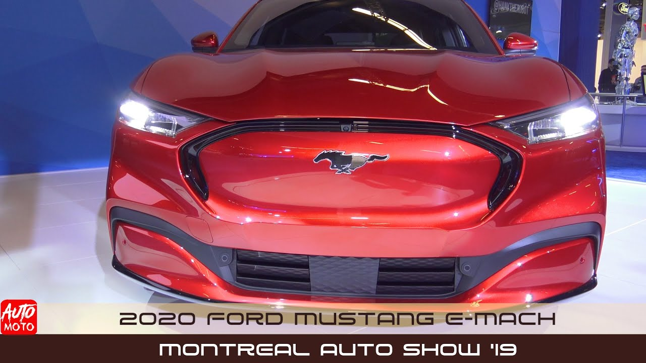 2021 Ford Mustang E-Mach - Exterior And Interior - Montreal Auto Show 2020