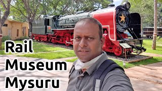 Rail Museum Mysore Rail Museum Mysuru vintage locomotive Museum Mysore Tourism Karnataka Tourism