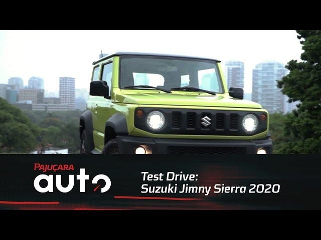 Test Drive: Suzuki Jimny Sierra 2020